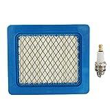 GOZAR Plug & Air Filter Service Kit Für Honda Izy/Hrx Mäher und Gcv 135/160/190