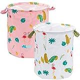 Qilicz multifunzionale pieghevole cesto portabiancheria in cotone lino portabiancheria lavanderia giocattolo per bambini cestino portaoggetti in tessuto casa organizer portaoggetti, cestino