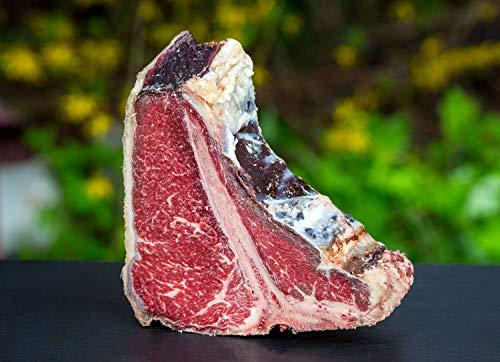 T-Bone Steak vom Rotbunten Rind, Dry Aged Gesamtgewicht 848 Gramm