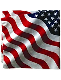 BANDANA US DRAPEAU USA - 55 cm x 55 cm - AIRSOFT / PAINTBALL / MOTO / BIKER / OUTDOOR / COUNTRY