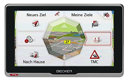 Becker transit.6s EU Truck und Camper Navigationsgerät (15,8 cm (6,2 Zoll) kapazitives Echtglasdisplay, 46 Länder vorinstalliert, Blitzerwarner, mit MagClick Aktivhaltersystem) - 4