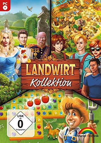 Die große Landwirt Kollektion - 3 Spiele Wimmelbild, Klick Management, 3 Gewinnt
