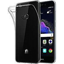 VIFLYKOO Huawei P8 Lite 2017 Funda, Huawei P8 Lite 2017 Cover Extrema Delgado Transparente Funda Huawei P8 Lite 2017 Case TPU Carcasa Silicona Protective para Huawei P8 Lite 2017 Smartphone TPU Case