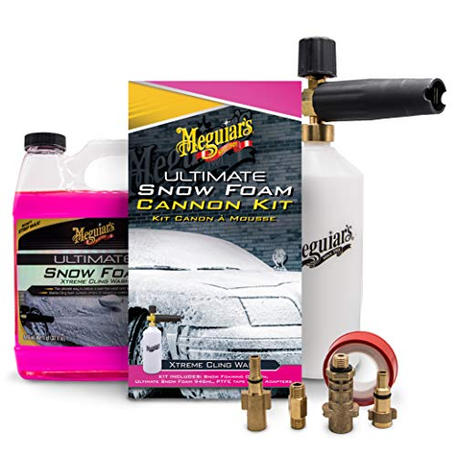 Meguiar's Ultimate Car Snow Foam Cannon Lance Kit Kärcher compatible Nilfisk compatible Bosch compatible