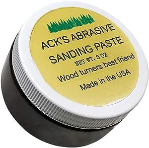 Ack S Acks Abrasive Sanding Paste Schleifpaste Zum Drechseln 8 Oz 227g Baumarkt