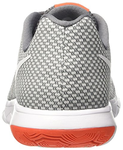 Nike Flex Experience Run 6, Chaussures de Running Compétition homme Gris (Pure Platinum/white Cool Grey Orange Cha)