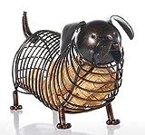 bhpsu Metall Tier Figuren Dackel Wein Kork Container Moderne Künstliche Eisen Craft Home Dekoration Zubehör Geschenk
