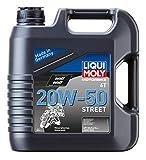 Liqui Moly 1500 Moto 4T 20W-50 Calle, BOOKLET, 1 L