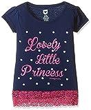 #9: 612 League Baby Girls' T-Shirt (ILS17I78014-3 - 6 Months-BLUE)