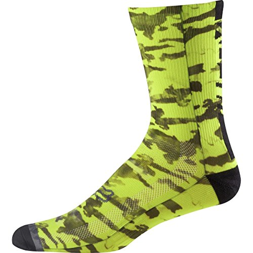 Fox Socken 8 Creo Trail Flo 18463-130-L/XL, Yellow, Größe L/XL