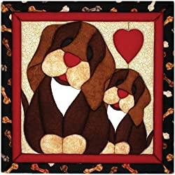 Quilt Magic 12 X 12-inch Puppy Love Kit