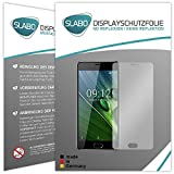 Slabo 2 x Bildschirmfolie für Acer Liquid Z6 Plus Bildschirmschutzfolie Zubehör No Reflexion MATT