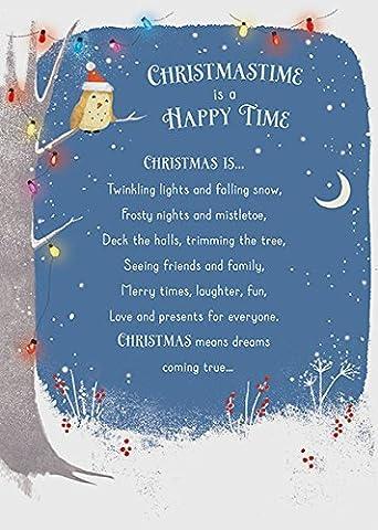 Happy Time Carte de Noël