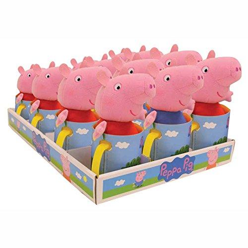 ��Plüsch + Tasse Peppa Pig–Modell zufällige (Peppa Pig Plüsch Spielzeug)