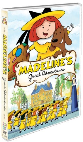 Madeline's Great Adventures by Andrea Libman (Dvd Madeline)