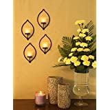 [Sponsored]Hosley® Set Of 4 Wall Sconce With Frosted Glass