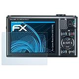 atFoliX Displayschutzfolie für Canon PowerShot SX610 HS Schutzfolie - 3 x FX-Clear kristallklare Folie