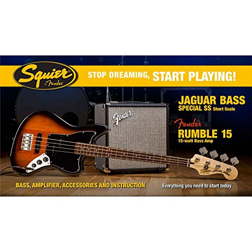 fender-squier-affinity-jaguar-bass-pack-with-rumble-15-amp-brown-sunburst