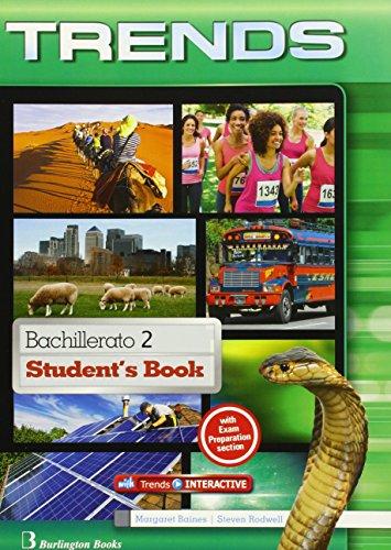 Trends 2 bachillerato : student's book