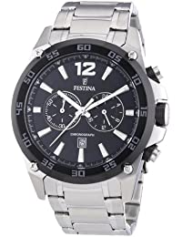 Festina Herren-Armbanduhr XL Sport Chronograph Quarz Edelstahl F16680/4