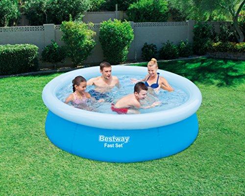 Schwimmbad Bestway Fast Set Pool 198 x 51 cm Familienpool Schwimmbecken Becken - 3