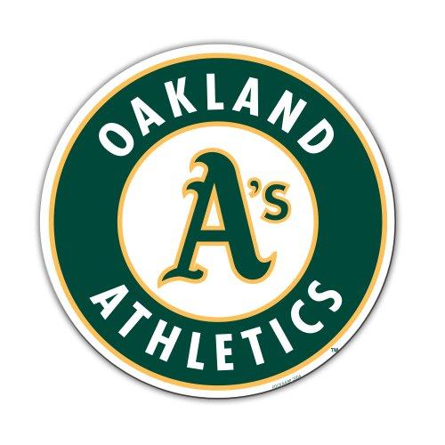 MLB Oakland Athletics 12-Inch Vinyl Logo Magnet by Fremont Die Oakland Athletics Mlb Magneten