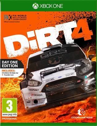 DiRT 4 (Day One Edition)  Xbox One