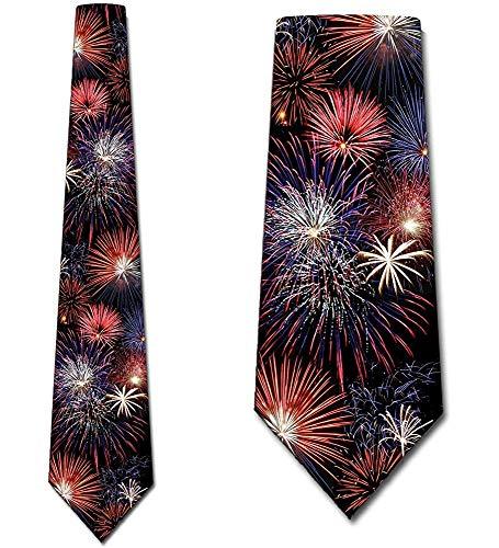 Feuerwerk krawatten Patriotische Krawatte 4. Juli durch drei Rooker