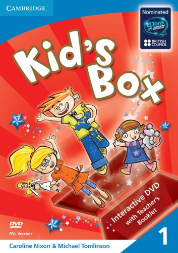 Kid's Box Level 1 Interactive DVD (PAL) with Teacher's Booklet - 9780521688338