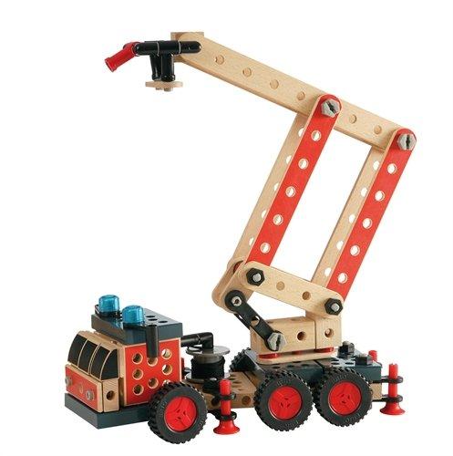 Brio 34566 - Builder Hubrettungswagen