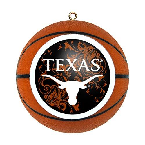 Texas Longhorns Christmas Ornament (Boelter Brands NCAA Texas Longhorns Basketball-Figur)