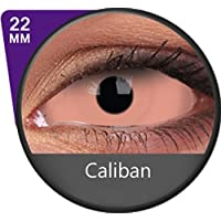 Kontaktlinsen Festive ohne Stärke Phantasee Modell Sclera 22mm Caliban