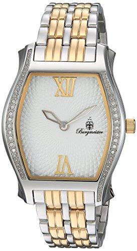 Burgmeister-Orologio da donna al quarzo con Display analogico e braccialetto in acciaio INOX con 806-117 BM