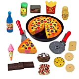 #5: Super Toys Pizza Cutting Play Toy - Kitchen Role, Restaurant Role Pretend Play Toy for Kids