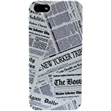 Akashi Coque pour iPhone 5/5S Newspapers