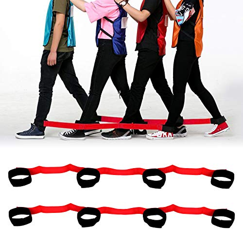 TUPARKA 2 Pcs 4-Legged Race Band...