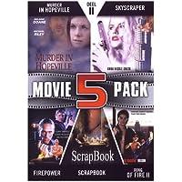 Movie 5 Pack Collection (Part 11) ( Murder in Hopeville / Skyscraper / Firepower / Scrapbook / Ring of Fire II: Blood and Steel ) ( Black Swan / Sky scraper / Fire power / Scrap book / Ring of Fi