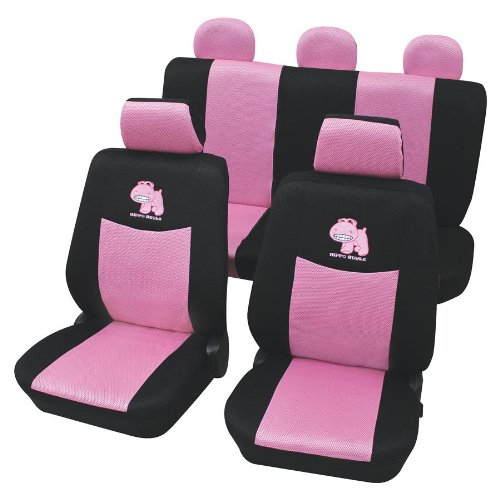 Petex 24974822 Sitzbezugset, 11- teilig, Pink