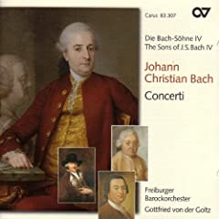 Bach, J.C.: Sons of Bach (The), Vol. 4 - Concertos