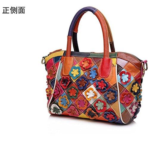WU Zhi Lady In Pelle Di Colore Di Spalla Borsa Color