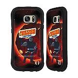 Head Case Designs Officiel Justice League Action Darkseid Art Personnages Coque Hybride Compatible avec Samsung Galaxy S7