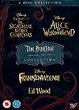 Tim Burton 4 Pack DVD