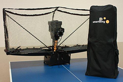 Smartpong tj3000a Tischtennis Roboter, drahtlos programmierbar, automatische Ball Loader, real Play Erfahrung 00Kunststoff Kugeln