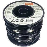 Stihl 0000 930 2622 cable para cortar, cable de plástico 3,3 mm x 140 m Original!