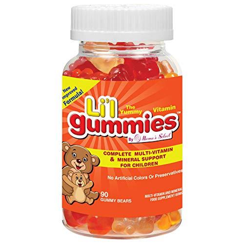 Gominolas para niños - Soporte completo para niños con multivitaminas y hierro, con vitaminas para niños - Li