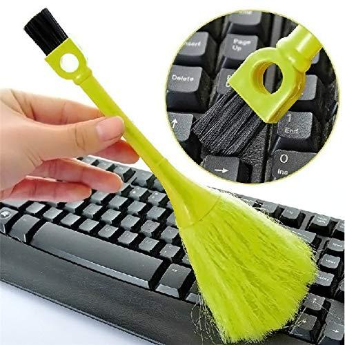 Tofree Mini Computerbürste/Tastatur Pinsel/Bildschirm Pinsel/Desktop Staubpinsel/Multifunktions-Tastatur Reinigungsbürste, zufällige Farben -