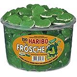 Haribo Frösche, Dose, 150 Stück, 1050g