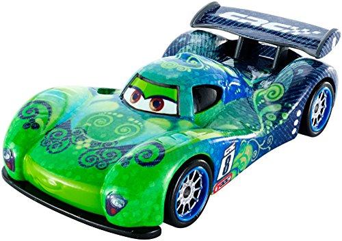 Mattel DHM85 - Disney Cars - Carbon Racers Die-Cast - Carla - Veloso