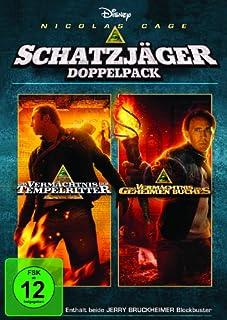 Das Vermächtnis der Tempelritter / Das Vermächtnis des geheimen Buches [2 DVDs]