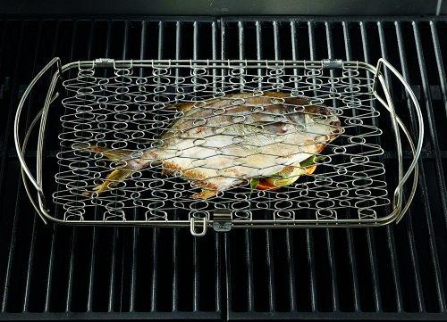 51x5EbcmVdL - Weber 6471 Fisch- und Gemüsehalter , groß